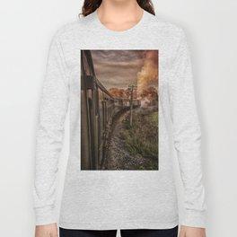 Evening Train Long Sleeve T-shirt