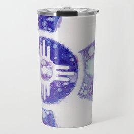 Wichita Purple By Heather Hayes - Travel Mug