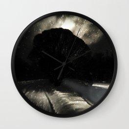 Sun of Nav' Wall Clock