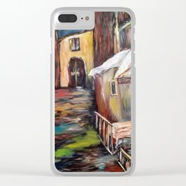 Evening in Rome Clear iPhone Case