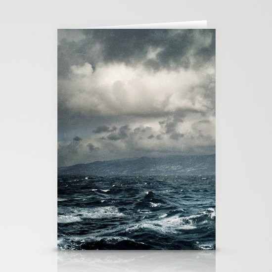 wild ocean Stationery Cards