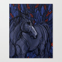 Valor the Mustang Canvas Print