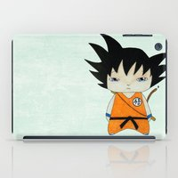 vegeta iPad Cases featuring A Boy - Goku by Christophe Chiozzi