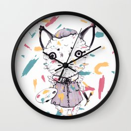 Adding Paint Wall Clock