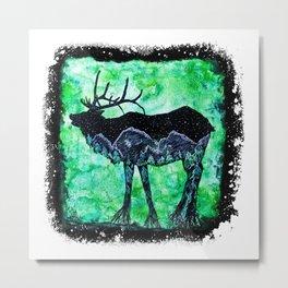 Elk Mountain Metal Print