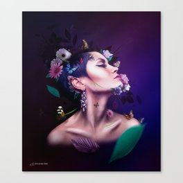 Nature & It's Mother Canvas Print