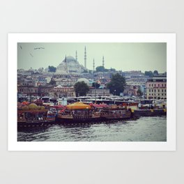 Istanbul is a poem -  Fine Art Travel Photography  Art Print