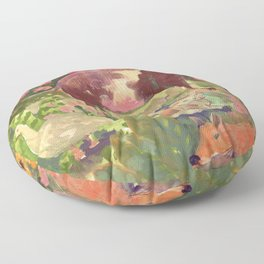 cottage party Floor Pillow