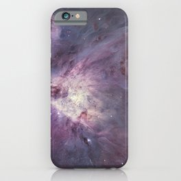 The Orion Nebula Messier 42 diffuse nebula in constellation Orion. iPhone Case