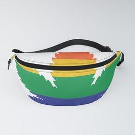 Pride Pot Leaf LGBT Fanny Pack