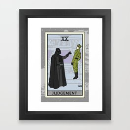 Judgement - Tarot Card Framed Art Print