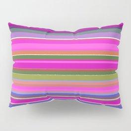 Wild pink ethno lines Pillow Sham