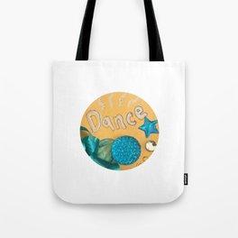 Dance Charm Tote Bag
