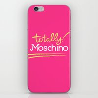 moschino iPhone & iPod Skins featuring Totally Moschino by RickyRicardo787