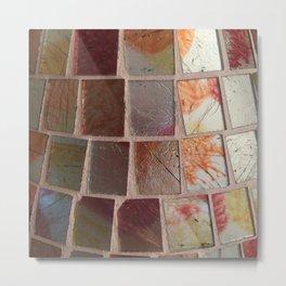 Glass Vase Metal Print