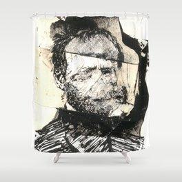 dis comp 6 ( 4 Civil War Generals) Shower Curtain