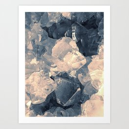 Crystal Blue Art Print