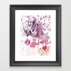 Swap Your heart for one sweet cherry? Framed Art Print