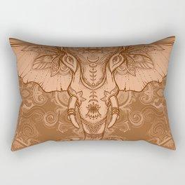 Sepia Ganesha Rectangular Pillow