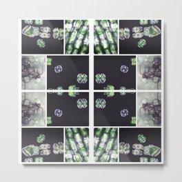 Interspace - Plant Cells Metal Print