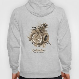 Fruits of Colombia | Frutas Colombianas | Sepia Hoody