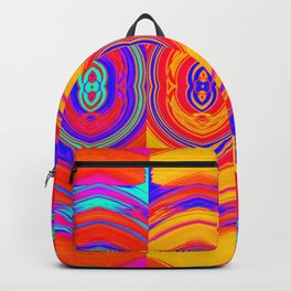 Colorful Abstract Pattern Backpack