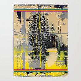 Sunday Morning - colour frame Poster