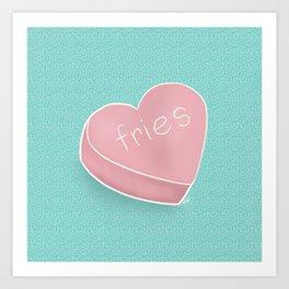 my one true love Art Print