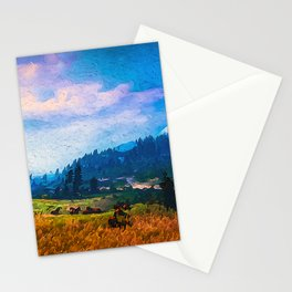 Our Loved Earth Stationery Cards