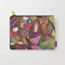 Printmaking experiment Carry-All Pouch