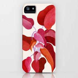 All Grown Up / Tropical Plant Illustration iPhone Case