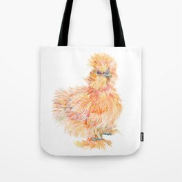 Silkie Chicken - Sweet Potato Tote Bag