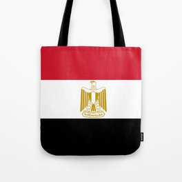 flag of egypt- Egyptian,nile,pyramid,pharaon,cleopatra,moses,cairo,alexandria. Tote Bag