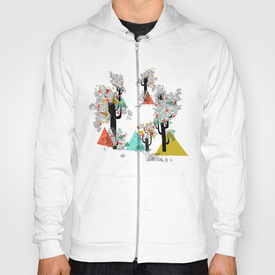 Tree Triangles Hoody