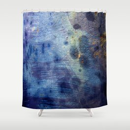 Blurple Shower Curtain