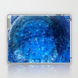 Clear Blue Water Bubbles Laptop & iPad Skin
