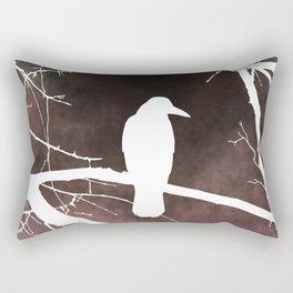 Bird 79 Crow Raven Rectangular Pillow