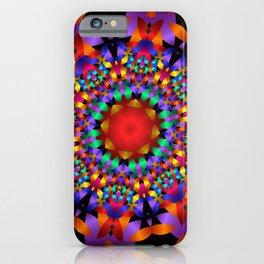 mandala-design -c- iPhone Case