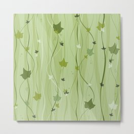 Climbing Vines - English Ivy Metal Print