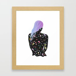 made of stars Framed Art Print