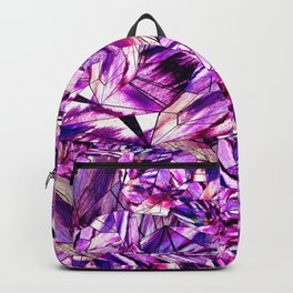 Crystal Amethyst Gem Stone Backpack