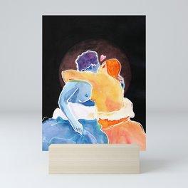 Nymphs in Love Mini Art Print