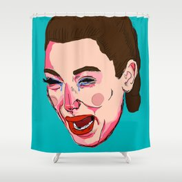 Kimmy K Shower Curtain