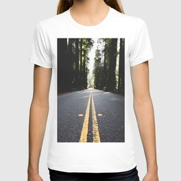 Into The Woods I Go - Nature Photography T-shirt