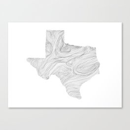 The State of Things: Texas Canvas Print