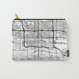 Phoenix Map White Carry-All Pouch
