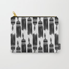 The Old Minimalistic Paint Brush Carry-All Pouch