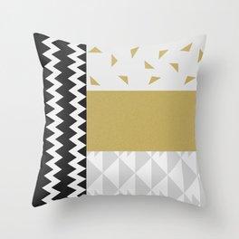 DREAM CATCHERS // Golden path Throw Pillow