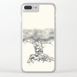 Tree of Woe Clear iPhone Case
