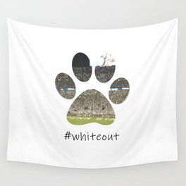 #whiteout Wall Tapestry